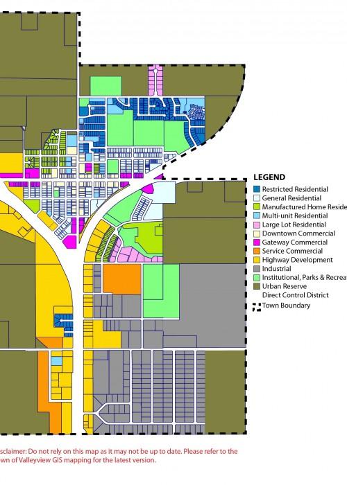 LUB Zoning Map